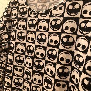 LuLaRoe Tops - Lularoe Jack Skellington Halloween Shirt Sz XXS